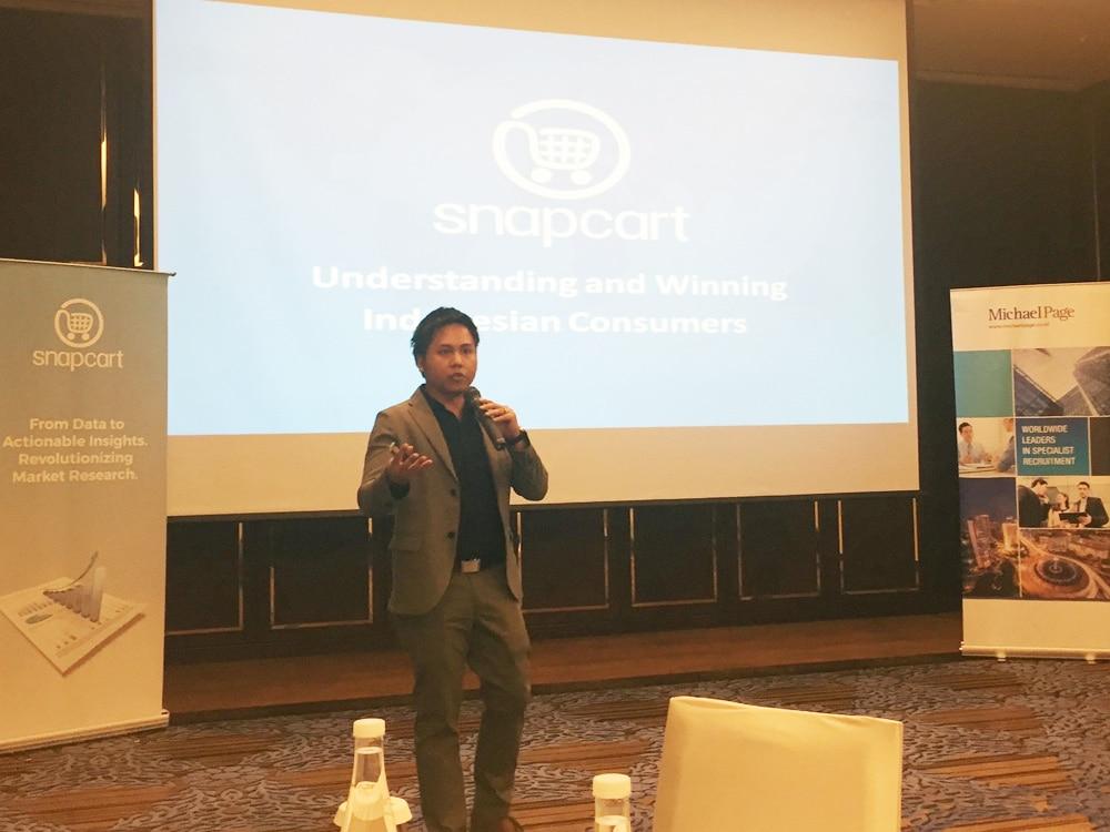 Snapcart CEO Reynazran